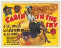 6f088 CABIN IN THE SKY TC '43 great image of sexy full-length Lena Horne, Rochester & Ethel Waters!