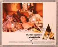 6f378 CLOCKWORK ORANGE X-rated English/U.S. LC #8 '73 Kubrick, Malcolm McDowell w/3 topless girls!