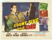 6f097 COUNT FIVE & DIE TC '58 Jeffrey Hunter, Annemarie Duringer, English spies!