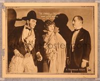 6f383 COWBOY & THE LADY LC '22 Mary Miles Minter between husband Robert Schable & cowboy Tom Moore!