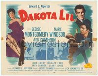 6f101 DAKOTA LIL TC R55 Marie Windsor is out to get George Montgomery as Tom Horn!