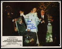 6f014 DAY OF THE LOCUST signed LC #3 '75 by Burgess Meredith, who's getting married in a wheelchair!