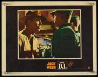 6f404 DI LC #5 '57 super close up of super tough U.S. Marine Corps Drill Instructor Jack Webb!