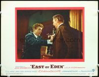6f052 EAST OF EDEN LC#3 '55 James Dean can't understand why dad Raymond Massey hates him!
