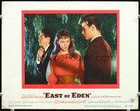 6f054 EAST OF EDEN LC#4 '55 Richard Davalos confronts Julie Harris and James Dean!