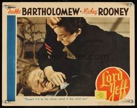 6f024 LORD JEFF signed LC '38 by Mickey Rooney, who's close up fighting with Freddie Bartholomew!