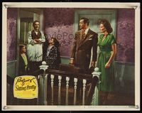6f034 SITTING PRETTY signed LC #2 '48 by Robert Young, who's with Clifton Webb & Maureen O'Hara!