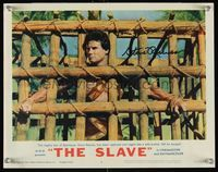 6f005 SLAVE signed LC #6 '63 by Steve Reeves, who is the son of Spartacus caged & tied up!