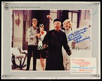 6f039 THOROUGHLY MODERN MILLIE signed LC #3 '67 by Carol Channing, who's w/Fox, Andrews & Morita!
