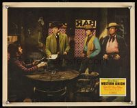 6f040 WESTERN UNION signed LC '41 by Robert Young, who's with Randolph Scott & Dean Jagger!