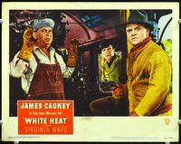 6f048 WHITE HEAT LC#2 '49 James Cagney is Cody Jarrett, robbing the train at gunpoint!
