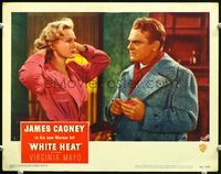 6f044 WHITE HEAT LC#7 '49 James Cagney suspects that sexy Virginia Mayo is unfaithful to him!