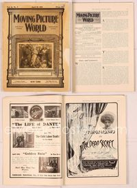 6h011 MOVING PICTURE WORLD magazine April 19 1913, many images & stories about then-current movies!