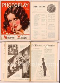 6h013 PHOTOPLAY magazine May 1930, artwork portrait of pretty Mary Brian by Earl Christy!
