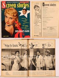 6h035 SCREEN STORIES magazine September 1955, Janet Leigh, Jack Webb, Pete Kelly's Blues!