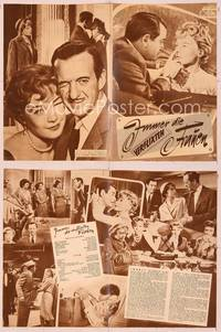 6z117 ASK ANY GIRL German program '59 different images of David Niven & Shirley MacLaine!