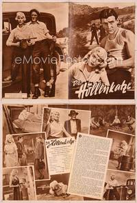 6z122 BONNIE PARKER STORY German program '58 many different images of gangster Dorothy Provine!