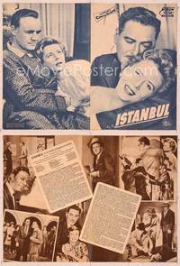 6z134 ISTANBUL German program '57 Errol Flynn & Cornell Borchers in the city of a thousand secrets!