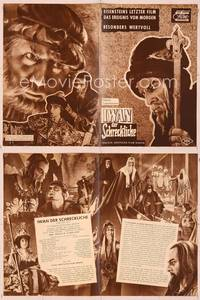 6z135 IVAN THE TERRIBLE PART TWO German program '58 Sergei M. Eisenstein, great different images!