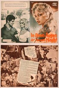 6z142 NIGHT HEAVEN FELL German program '58 many different images of sexiest Brigitte Bardot!