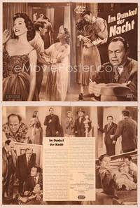 6z143 NIGHTMARE German program '56 Edward G. Robinson, from the Cornel Woolrich novel, different!