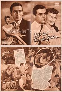 6z144 NOW & FOREVER German program '56 different images of the young lovers who elope!