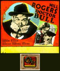 6z020 DOCTOR BULL glass slide R1937 directed by John Ford, Will Rogers as a country doctor!