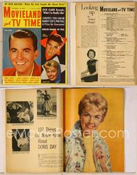 6z092 MOVIELAND magazine November 1958, portraits of Dick Clark, Rick Nelson & Doris Day!
