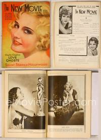 6z084 NEW MOVIE MAGAZINE magazine November 1931, super c/u art portrait of Madge Evans by Wilson!
