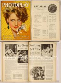 6z068 PHOTOPLAY magazine April 1930, great artwork of glamorous Norma Shearer by Earl Christy!