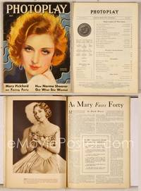 6z074 PHOTOPLAY magazine May 1931, wonderful art portrait of Marlene Dietrich by Earl Christy!