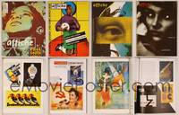 6z014 4 AFFICHE POSTER MAGAZINES '93-94 really cool international art from all over the world!
