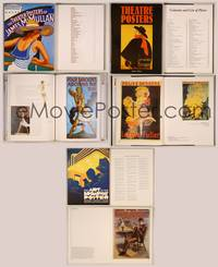 6z013 3 THEATER POSTER BOOKS Art of James McMullan, Broadway Posters, Theatre Posters!