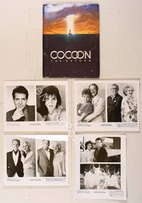 6z171 COCOON THE RETURN presskit '88 Courtney Cox, Don Ameche, Wilford Brimley, Hume Cronyn