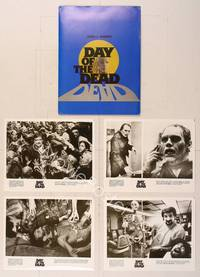 6z176 DAY OF THE DEAD presskit '85 George Romero's Night of the Living Dead zombie horror sequel!