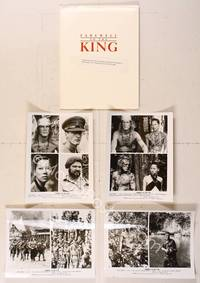 6z179 FAREWELL TO THE KING presskit '89 John Milius directed, Nick Nolte as king of jungle!