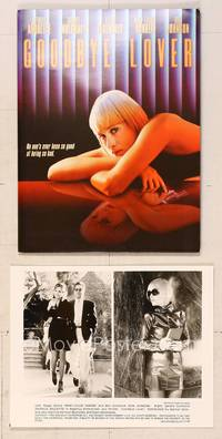 6z182 GOODBYE LOVER presskit '98 sexy Patricia Arquette has gun in mirror image!