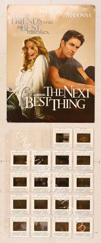 6z194 NEXT BEST THING presskit '00 directed by John Schlesinger, sexy Madonna, Rupert Everett