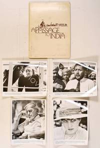 6z197 PASSAGE TO INDIA presskit '84 directed by David Lean, Alec Guinness, Victor Banerjee