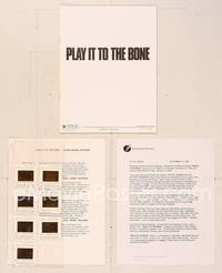 6z200 PLAY IT TO THE BONE presskit '99 Antonio Banderas, Woody Harrelson