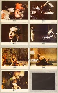 7m054 ANDY WARHOL'S DRACULA 7 LCs '74 Paul Morrissey, images of vampire Udo Kier!