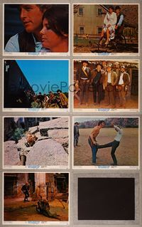 7m079 BUTCH CASSIDY & THE SUNDANCE KID 7 LCs '69 Paul Newman, Robert Redford, Katharine Ross!