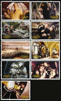 7m037 LEMONY SNICKET'S A SERIES OF UNFORTUNATE EVENTS 9 10.5x16 LCs '04 wacky images of Jim Carrey!