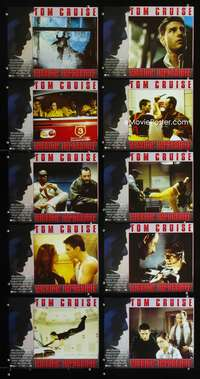 7m019 MISSION IMPOSSIBLE 10 LCs '96 Tom Cruise, Jean Reno, Brian De Palma directed!