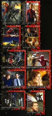 7m025 SPIDER-MAN 3 10 int'l LCs '07 Sam Raimi, Tobey Maguire, Kirsten Dunst, James Franco!