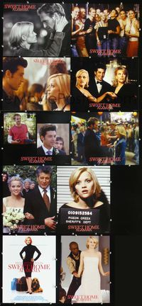 7m026 SWEET HOME ALABAMA 10 int'l advance LCs '02 Reese Witherspoon, Josh Lucas, Patrick Dempsey