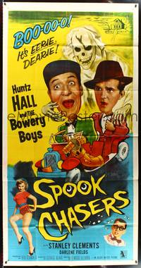 7v871 SPOOK CHASERS style A 3sh '57 Huntz Hall, Bowery ...  Spook