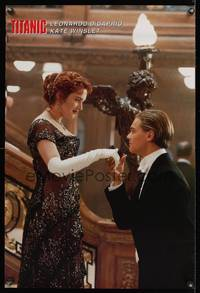 7x435 TITANIC commercial poster '97 Leonardo DiCaprio, Kate Winslet, directed by James Cameron!