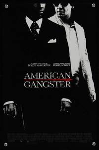 7x064 AMERICAN GANGSTER special poster '07 Denzel Washington, Russell Crowe, Ridley Scott directed