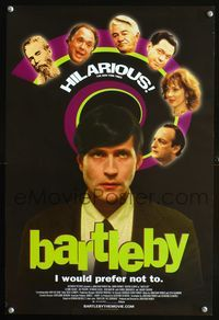 7x079 BARTLEBY special 13x20 '02 David Paymer, wacky Crispin Glover!